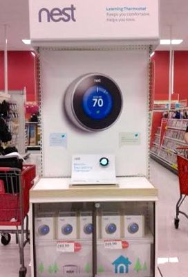 Nest Learning Thermostat Target