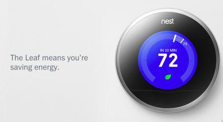 Nest energy saving