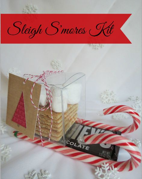 Sleigh S'mores Kit - Quick and easy gift to put togehter