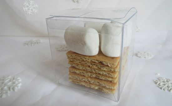 graham crackers and marshmallow