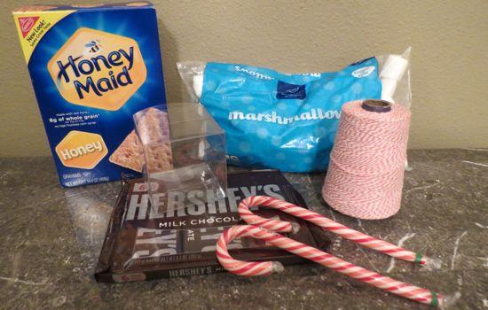 sleigh s'mores supplies
