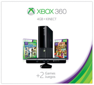 Target Has A Great Deal On The Xbox 360 4gb Kinect Holiday Value Bundle It S Priced At Only 199 99 Reg 299 Plus This Ships For Free Too