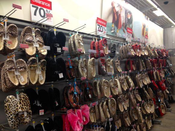 70 targ slipper shoes