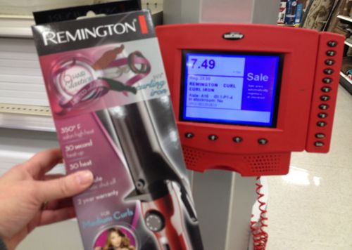 Remington curling iron