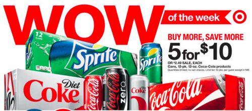 Target coke sale