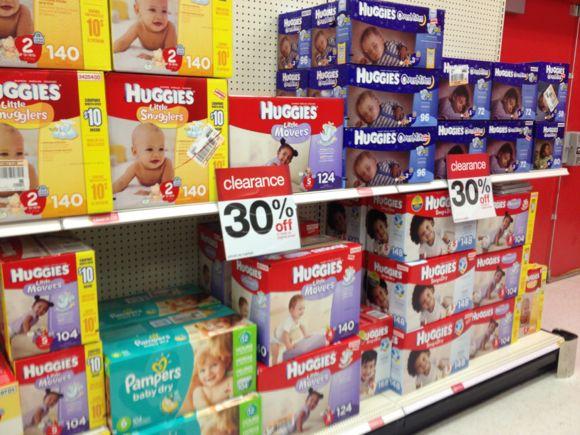 clear fri diapers