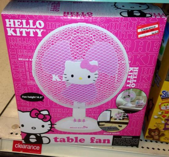 Hello Kitty Fan : Reader s target clearance finds all things