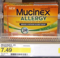 mucinexallergy