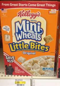 kelloggs mini wheats