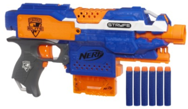 Target.com has the Nerf N-Strike Elite Stryfe Blaster for only $13.59,  plus, FREE shipping for everyone!