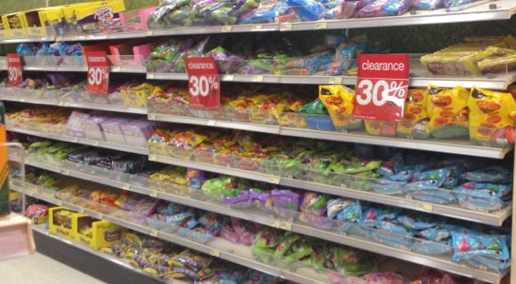 target easter clearance food