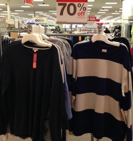 targetclearmensweater