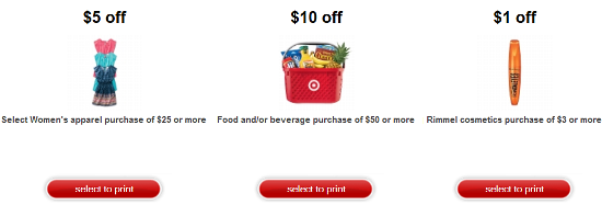 newtargetprintable coupon