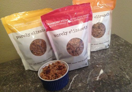 Purely Elizabeth Ancient Grain Granola review