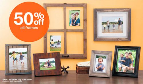 Target: All Frames 50% off + Extra 15% off | All Things Target