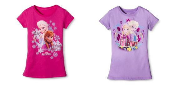 Disney Frozen Tees sale