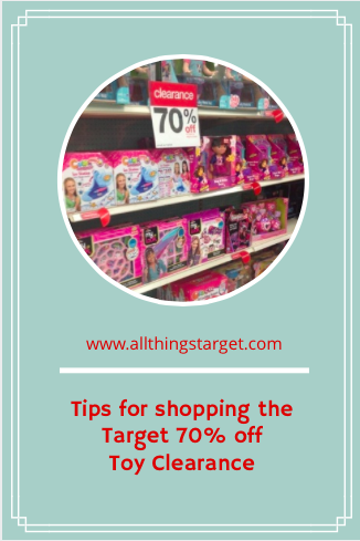 Tips for Shopping the Target 70% off Toy Clearance