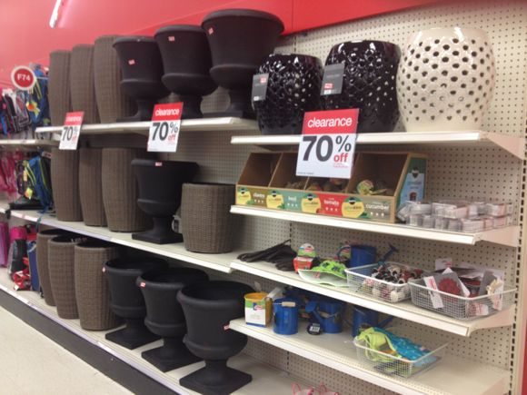 Target Weekly Clearance Update 70 off Garden Patio All