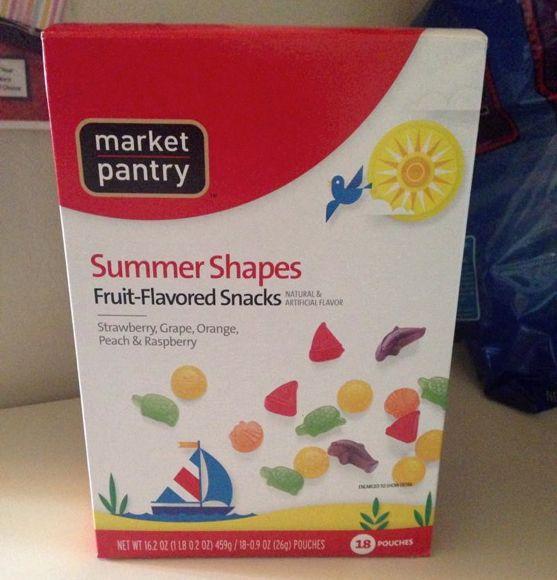 summer fruit snacks