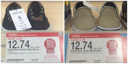 target shoes
