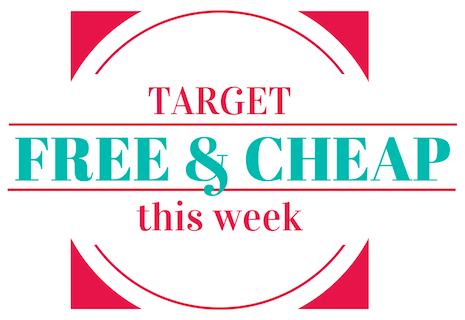 FREE & Cheap items to pick up at Target this week.
