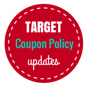 Target Coupon Policy updates