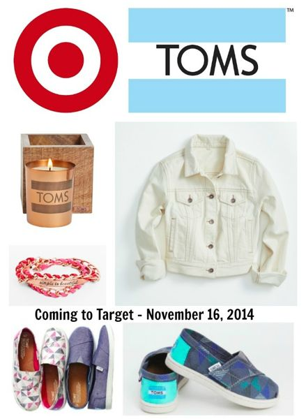 TOMS for Target - Coming November 16, 2014 to Target stores and Target.com