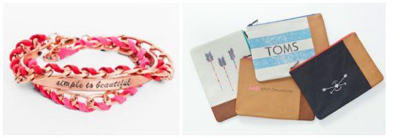 TOMS for Target bracelet