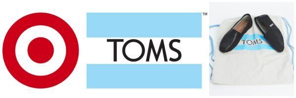 TOMS for Target logo
