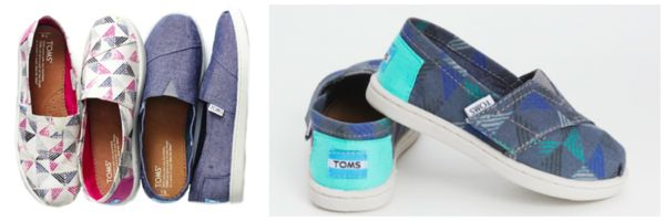 TOMS for Target shoes