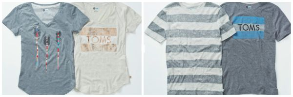 TOMS for Target tees