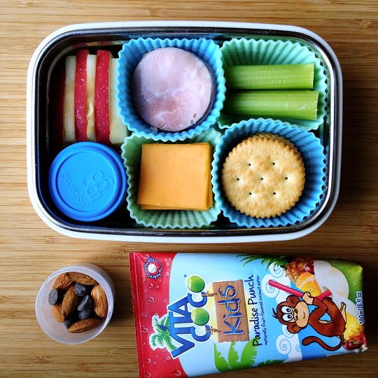 lunchables with vitacoco kids