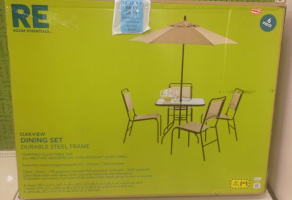 There Were Several Of These Outdoor Patio Sets Marked Down To 70 Off Chairs