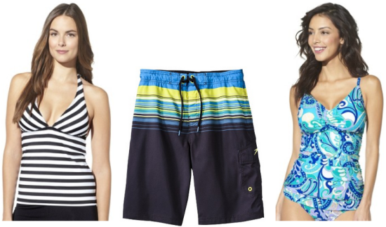 518b7ced9f Target.com has a nice selection of men's & women's swimwear for 65% off.  Plus, you can get an EXTRA 10% on clearance with code EXTRA10 at checkout.