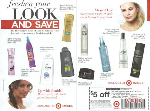 target ad freshen your look
