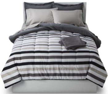 Ideal Stripe Bedding and Towel Set reg SAVE up to