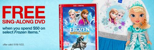 Frozen free sing-along