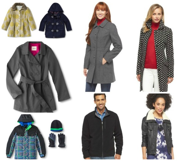 Target Sale Outerwear
