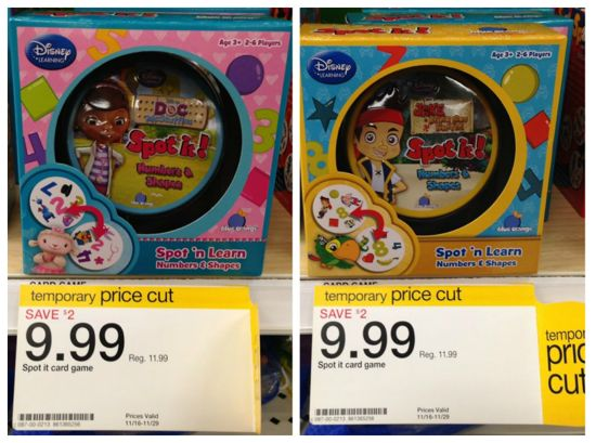 Target Spot It price cut