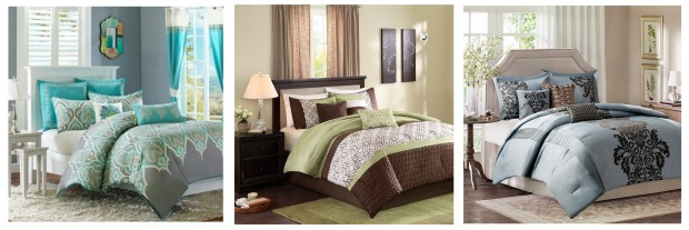 Cool Here is a super deal on the Madison Park piece Comforter Set especially if you need the larger queen or King sizes Kohls has all the Madison Park