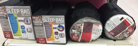 sleeping bags 30