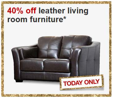 target 40 off furniture