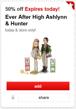 target cartwheel ever after