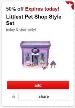 target cartwheel pet shop