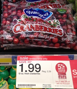 target cranberries