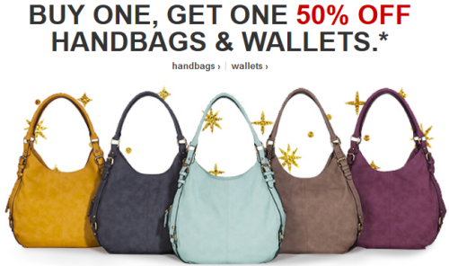 Get One 50 Off Handbags Wallets