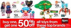 toy brands target