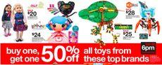 toy brands target
