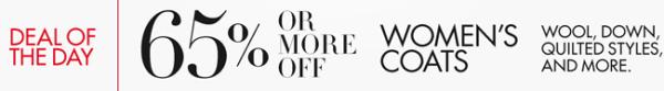 amazon coat daily deal