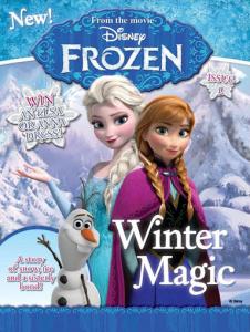 disney frozen mag